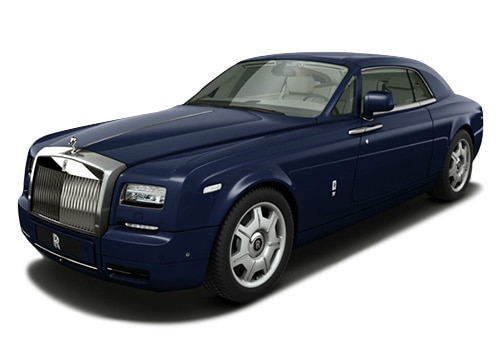Rolls-Royce Phantom Blue Color Pictures