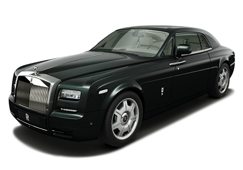 Rolls-Royce Phantom Black Green Color Pictures