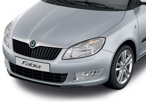 Skoda Fabia Silver Color Pictures