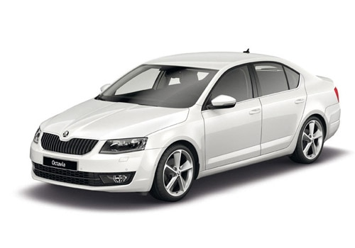 Skoda Octavia Candy White Color