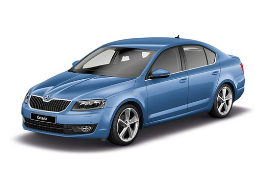 Skoda Octavia Race Blue Color