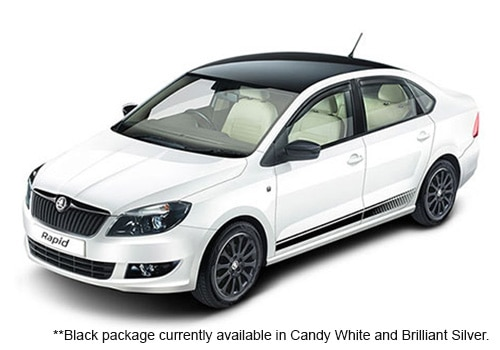 Skoda Rapid White Color Pictures Cardekho India
