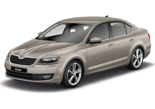 Skoda Octavia Beige Color Pictures