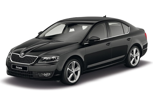 Skoda Octavia Black Color Pictures