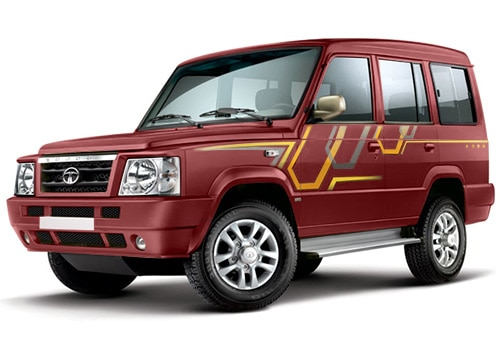 Tata Sumo Blazing Red Color