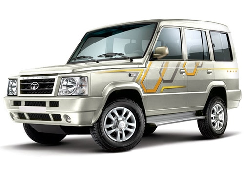 Tata Sumo Porcelain White Color