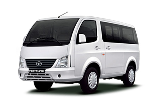Tata Venture Arctic White Color Picture