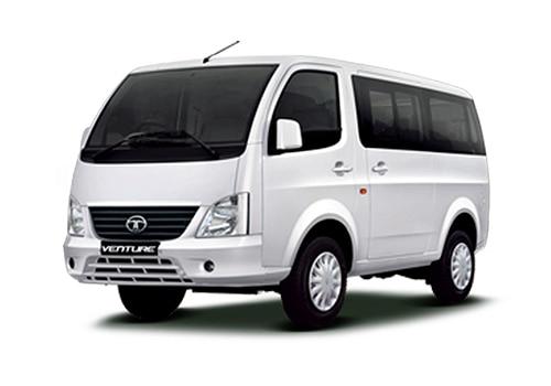 Tata Venture Arctic White Color Picture