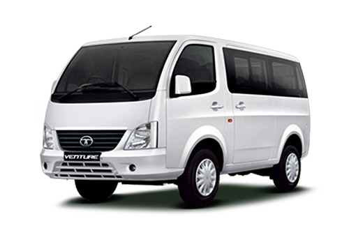 Tata Venture White Color Pictures