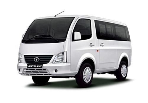 Tata Venture White Color Pictures