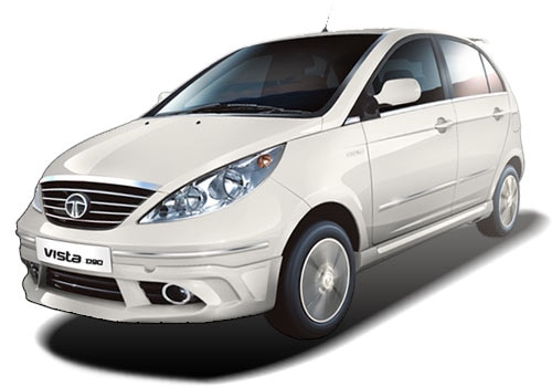 Tata Vista Dew White Color