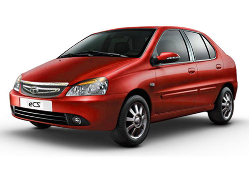 Tata Indigo eCS Royal Burgandy Color