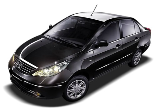 Tata Manza Black Color Pictures