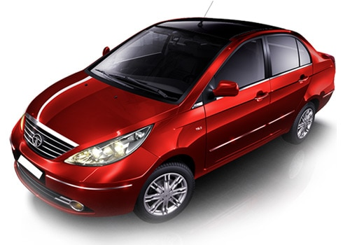 Tata Manza Red Color Pictures