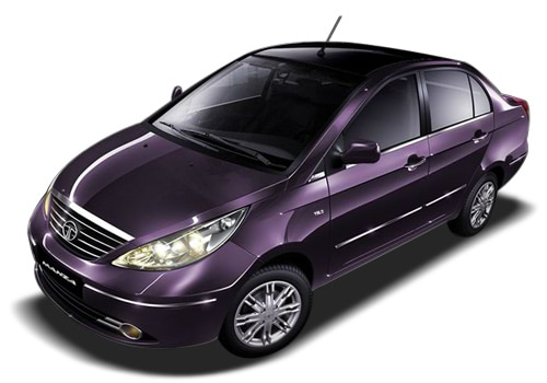 Tata Manza Wine Color Pictures