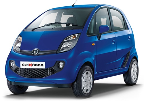 Tata Nano Dazzle Blue Color