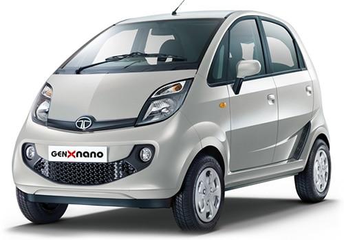 Tata Nano Meteor Silver Color