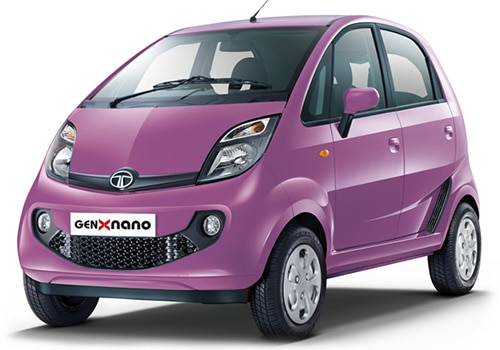 Tata Nano Persian Rose Color