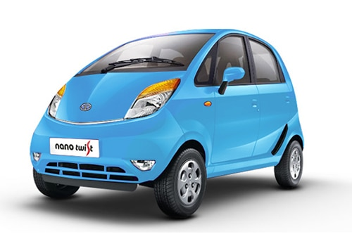 Tata Nano Cornflower Blue (NEW) Color