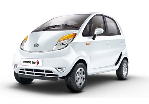 Tata Nano Serene White Color