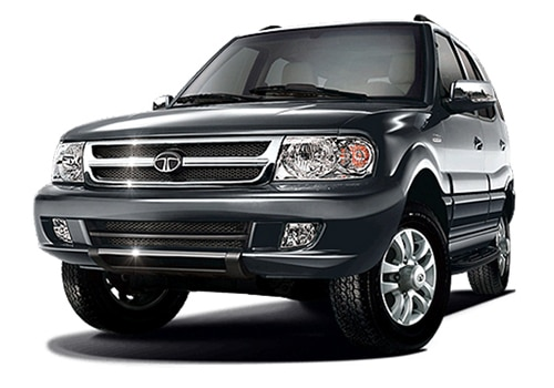 Tata Safari Quartz Black Color