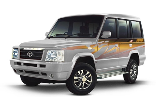 Tata Sumo Artic Silver Color