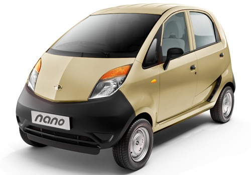 Tata Nano 2009-2011 Champagne Gold Color