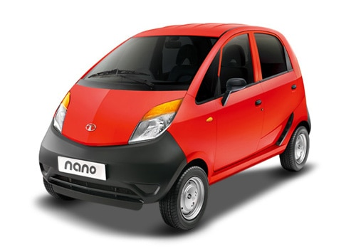 Tata Nano Red Color Pictures