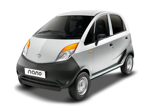 Tata Nano Silver Color Pictures