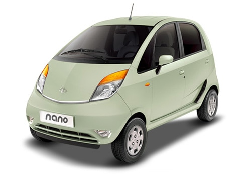 Tata Nano Green Color Pictures