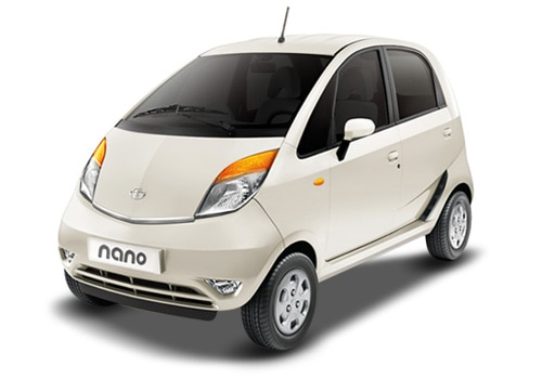 Tata Nano White Color Pictures