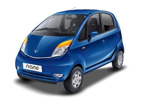 Tata Nano Blue Color Pictures