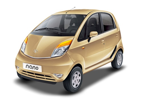 Tata Nano Gold Color Pictures