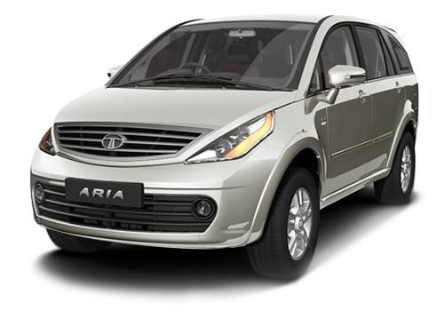 Tata Aria 2010 2013 Pearl White Color