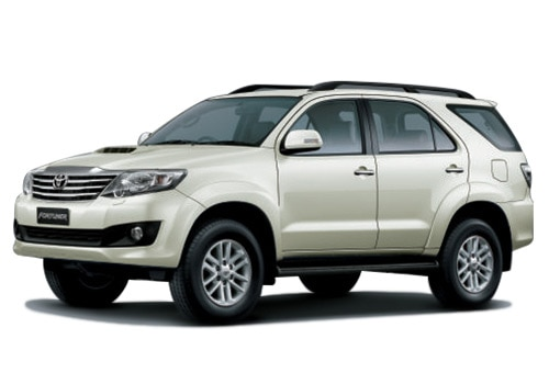 New Toyota Fortuner White Color Pictures