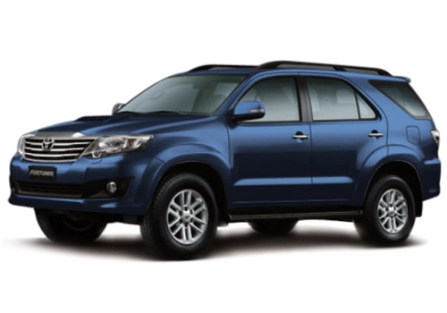 New Toyota Fortuner Blue Metallic Color Pictures