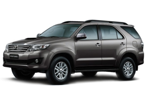 New Toyota Fortuner Metallic Grey Color Pictures