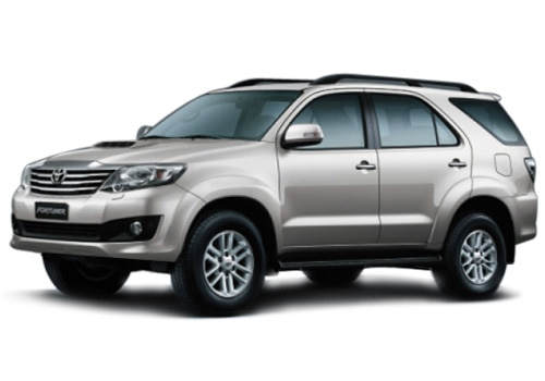 New Toyota Fortuner Metallic Gold Color Pictures
