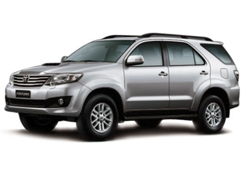 New Toyota Fortuner Metallic Silver Color Pictures