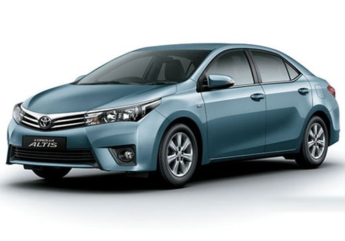 Toyota Corolla Altis Blue Metallic Color Pictures