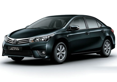 Toyota Corolla Altis Black Color Pictures