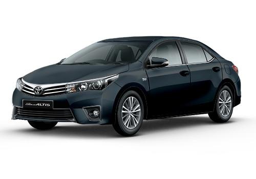 Toyota Corolla Altis Grey Metallic Color