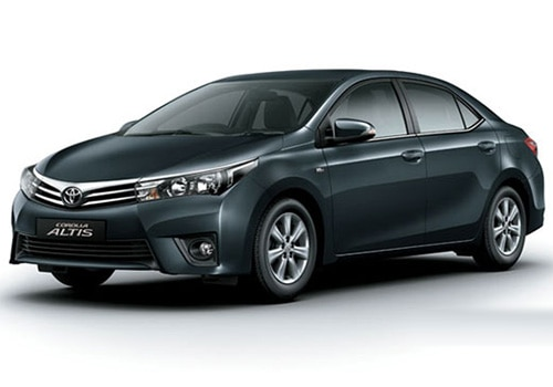 Toyota Corolla Altis Grey Metallic Color Pictures