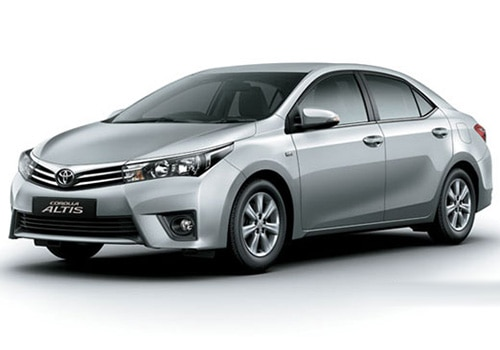 Toyota Corolla Altis Metallic Silver Color Pictures