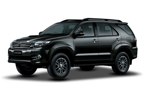 Toyota Fortuner Attitude Black Color
