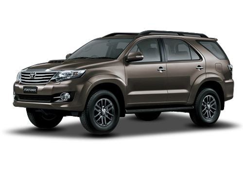 Toyota Fortuner Bronze Mica Metallic Color
