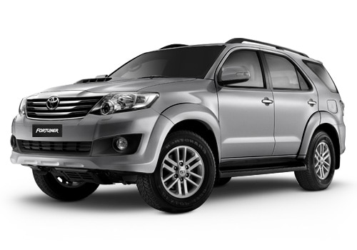 New Toyota Fortuner Grey Mica Metallic Color