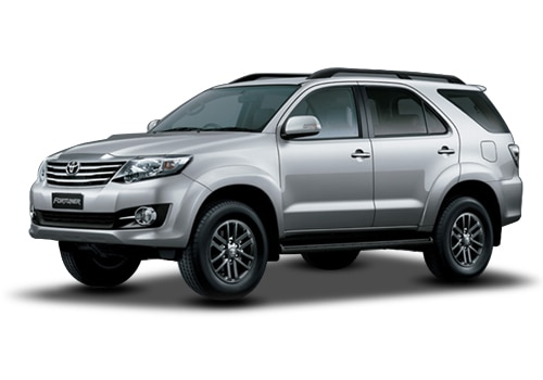 Toyota Fortuner Pearl White Color