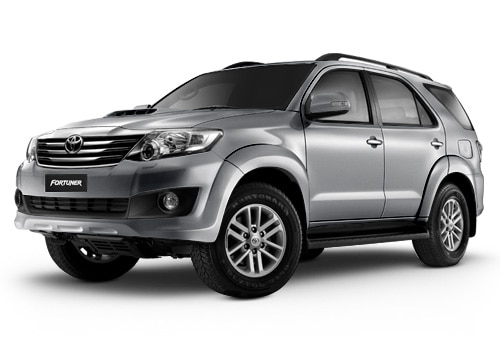New Toyota Fortuner Silver Mica Metallic Color