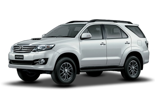 Toyota Fortuner Super white Color